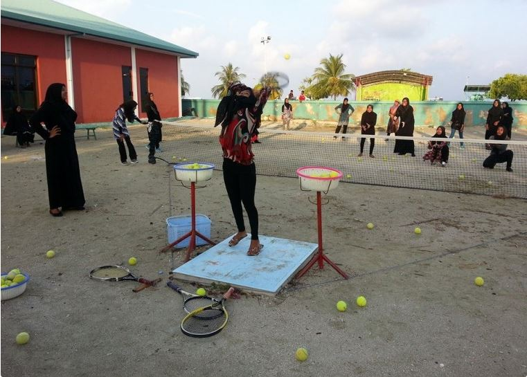 Bashi Traditional Maldivian Sport For Women Backpackers Maldives