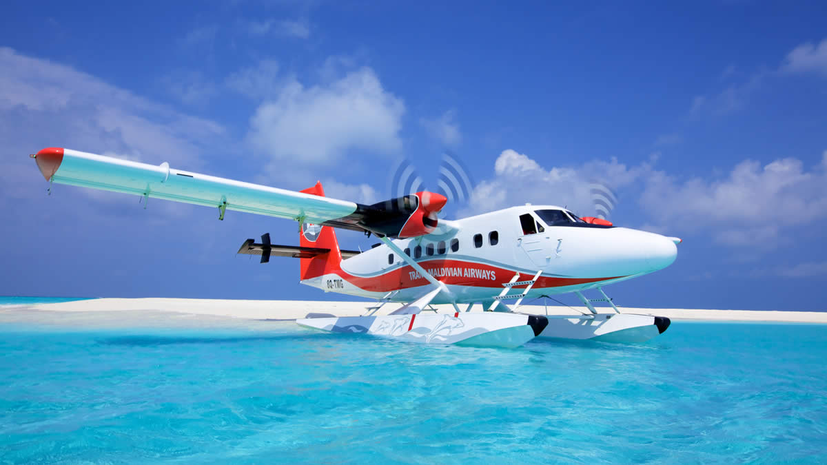 Maldives Transfers 3 Seaplane Backpackers Maldives
