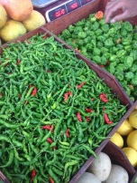 Githeyo mirus chilli - vegetables market