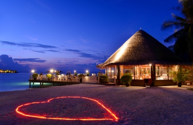 heart shape on the beach at hudhuranfushi cruise-maldives.com