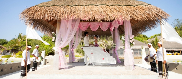 renewal of vows at Taj Exotica