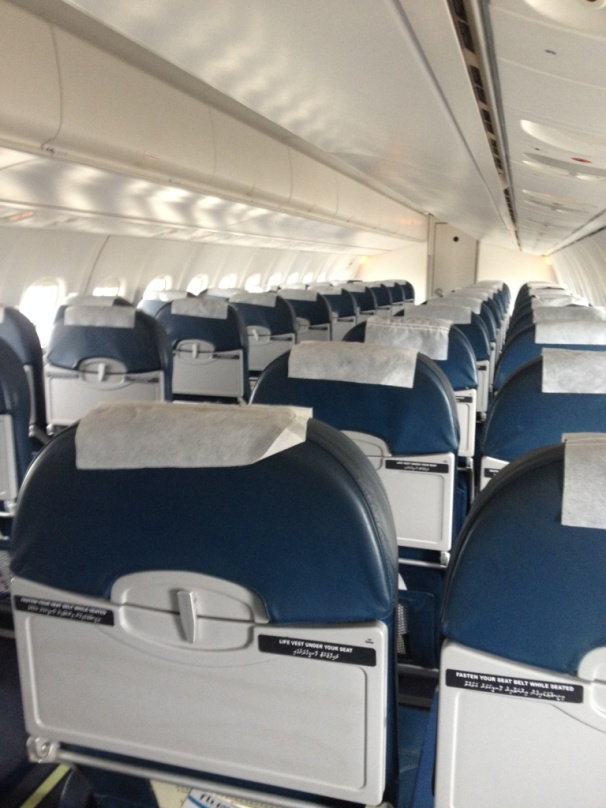 Inside Flyme Aircraft